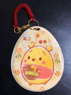 Winnie the Pooh ufufy passcode/luggage tag