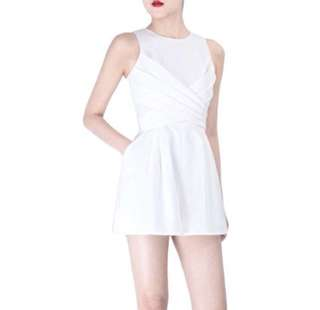 Doublewoot White Romper