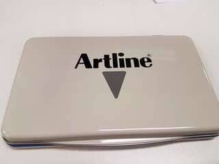 Artline ink pad (used)