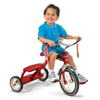 Radio Flyer Tricycle Classic Red Dual Deck (NP : RM699)
