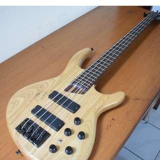 Guitar Bass Cort B4 Pickup Bartolini untuk Slap