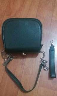 Miniso sling bag emerald
