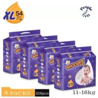 Whoopee Premium Mega Pack XL54 (4 pack)