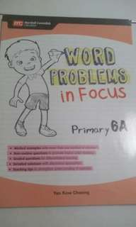 Marshall Cavendish Word Problems in Focus