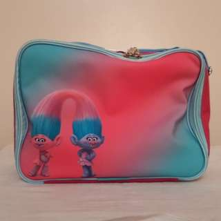 Trolls Lunch Bag (Satin & Chenille)