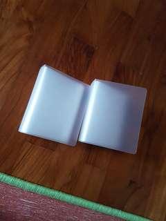 Muji Plastic folder