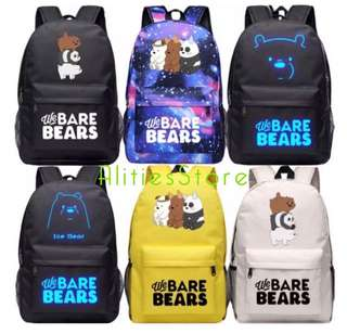 We Bare Bear Bag