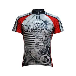 BRAND NEW Primal Wear Crankin' Stein Cycling Jersey
