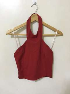 Armani Exchange Halter top