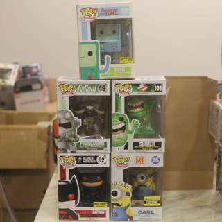 Funko Pop $10 Clearance (Damaged Boxes)