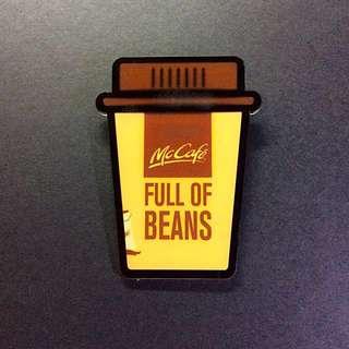 麥當勞 膠牌扣章