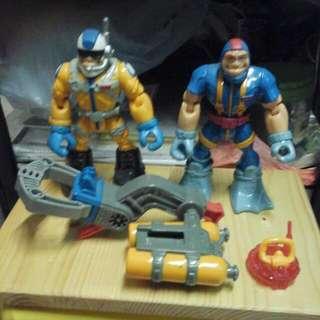 50年代玩具1對尺寸高6x4寸,OK😄