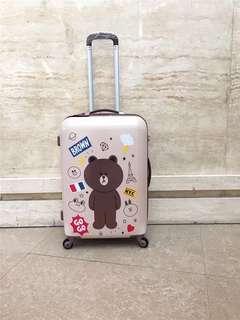 "Line luggage suitcase 20"""