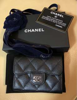 Chanel Flap Card Holder with back pocket