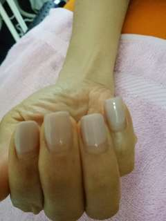Gel Nude colour last 3weeks
