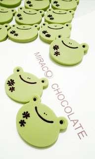 旅行幸福小青蛙手工巧克力