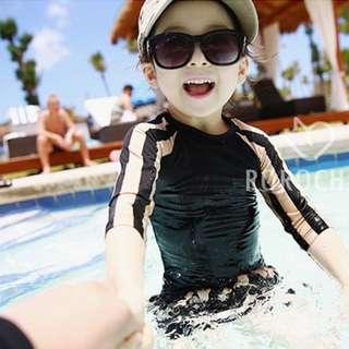 🚚 ▶夏季泳裝 / ▶女童泳衣☑韓版夏季防曬海灘中長款泳裝