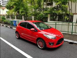 Car Rental Mazda 2 Hatchback Auto 1.5L
