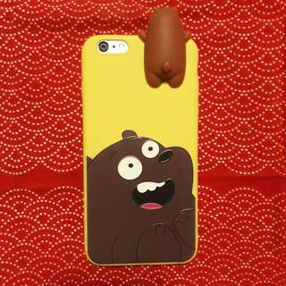 iPhone 6 Plus Grizzly Bare Bears case
