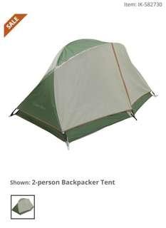 露營帳幕 Copper River 2 person tent