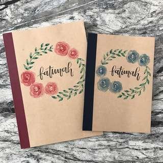 Muji Customisable Notebooks