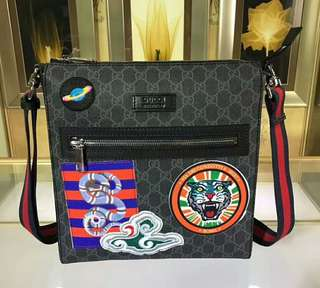 Gucci Night Courrier GG Supreme messenger RRP$1490