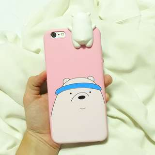 iPhone 6 Plus Polar Bare Bears case