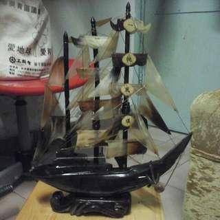 尺寸高15x12寸,牛國船一帆風须,送禮,OK
