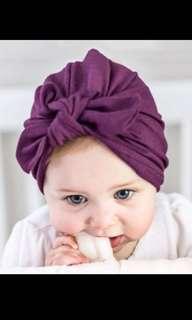 cute rabbit ears Indian Hat Bandanas baby girls kids knot turban headband hair head bands wrap