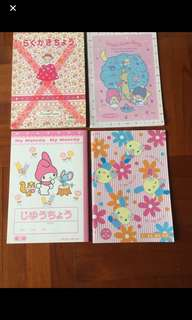 Sanrio papers sheet book