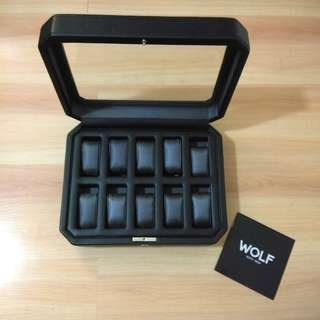 Wolf Watch Organizer w/ Box