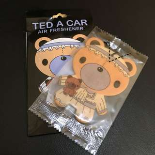 Ted a car (aroma baby powder) |pewangi mobil |pewangi ruangan
