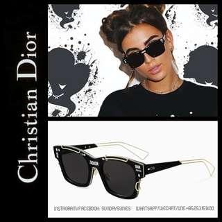 Dior J'adore square metal sunglasses 太陽眼鏡