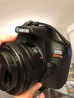 Canon EOS T6 w kit lens