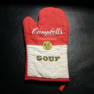 Vintage Cambell's Soup Oven Glove - a collector's item.