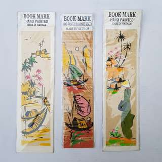 Handpainted Bookmarks from Vietnam