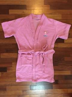 Ogival terry bathrobe for kids (towel material), Length approx 71cm. #Bajet20 #20under