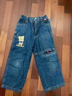 Kikilala jeans, cond 8/10. Tag says 3yo. Length is 49cm. #Bajet20 #20under