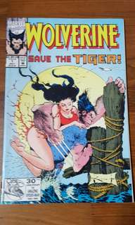 Wolverine : Save The Tiger