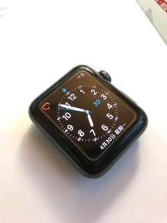 Apple Watch Series 3 42mm + Spigen Case Rugged Armor