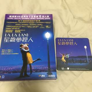全新正版LaLaLand DVD