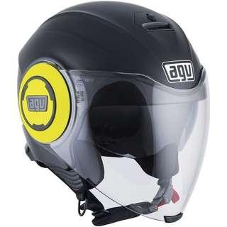 AGV Fluid matt black / yellow