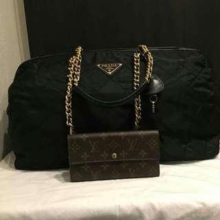 Authentic Prada Milano Travel Bag
