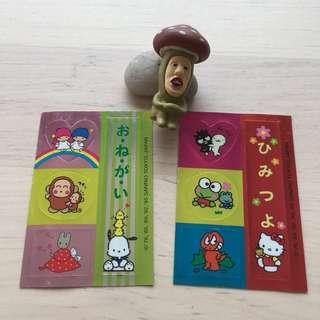 (包郵) Sanrio 76,95 貼紙