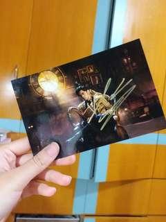 周傑倫親筆簽名相片