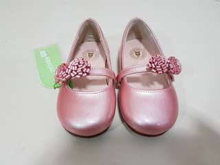 Baby pink princess kids shoes  us 8