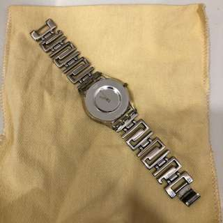 used 7/10 swatch womens' watch