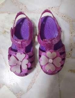 Crocs glitter sandal shoes