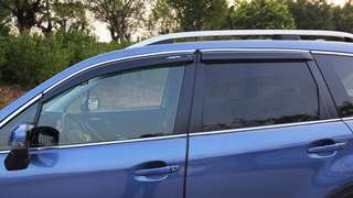 Subaru Forester rain guard/ door visor