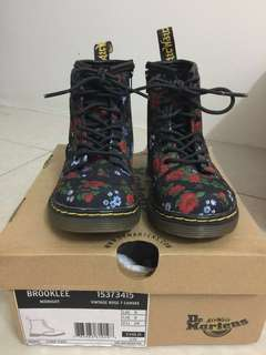 Dr Marten Child Boot Brooklee Midnight